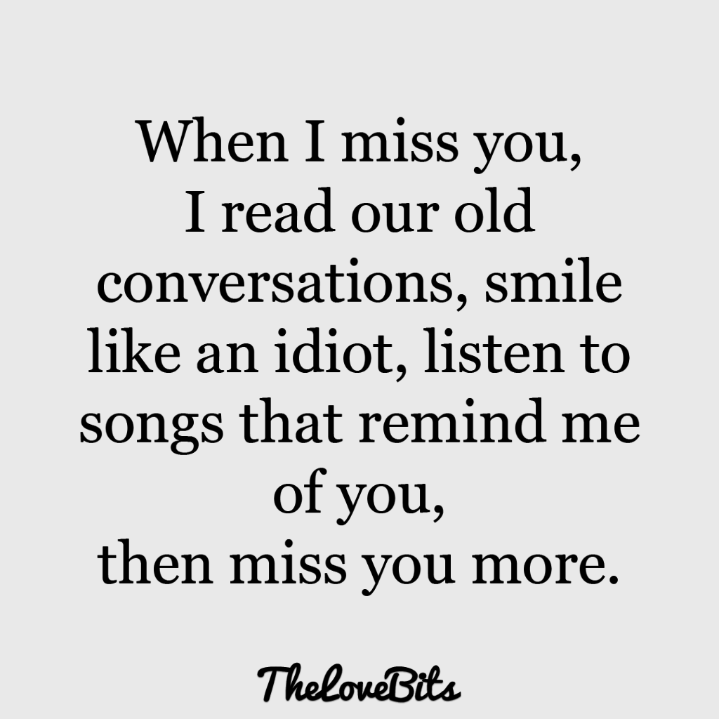 I Miss You Funny Quotes For Her Image Quotes At Relatably Com: 50 Cute Missing You Quotes To Express Your Feelings
